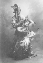 Firebird - Karsavina and Fokine - 1910